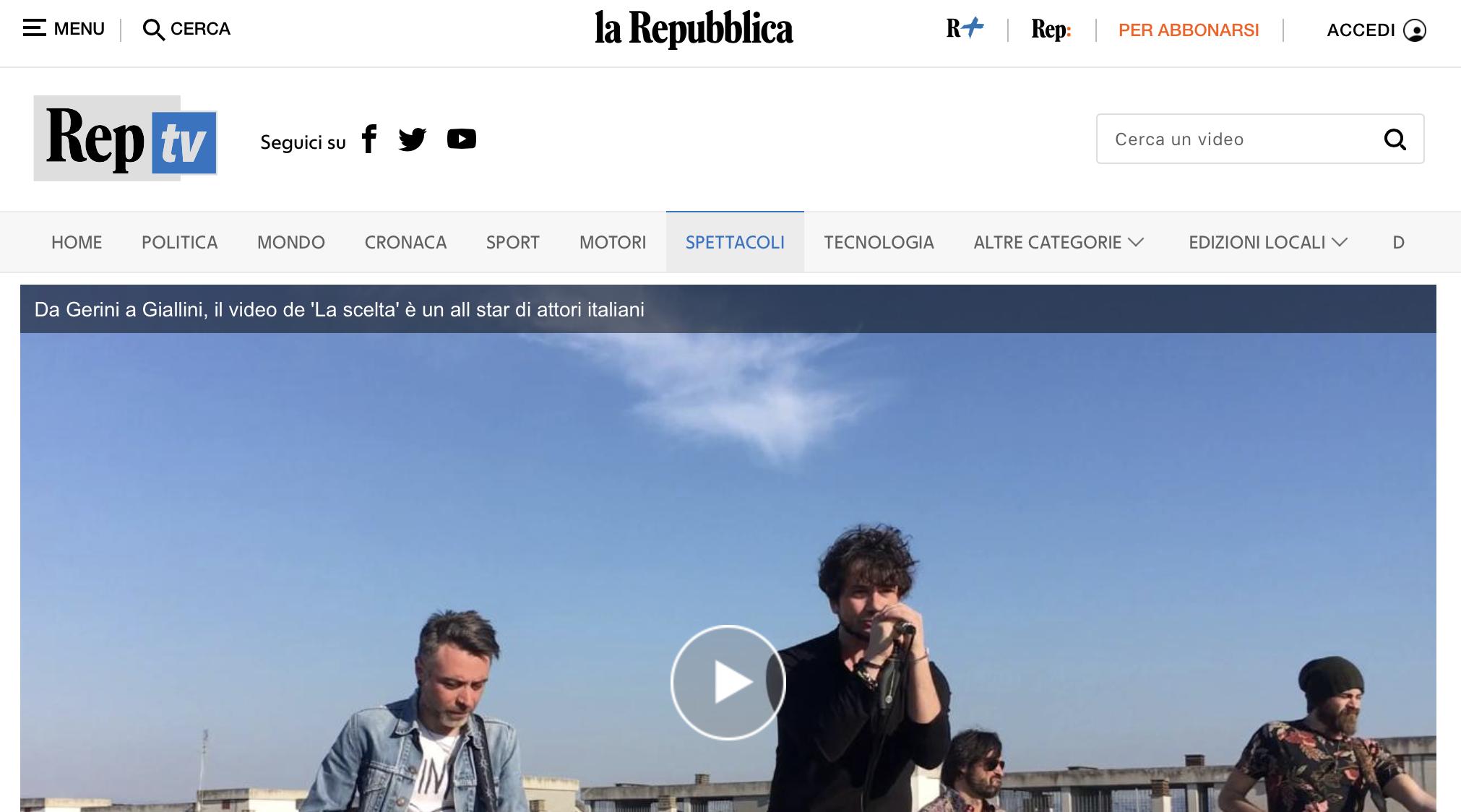 La Scelta Repubblica.it
