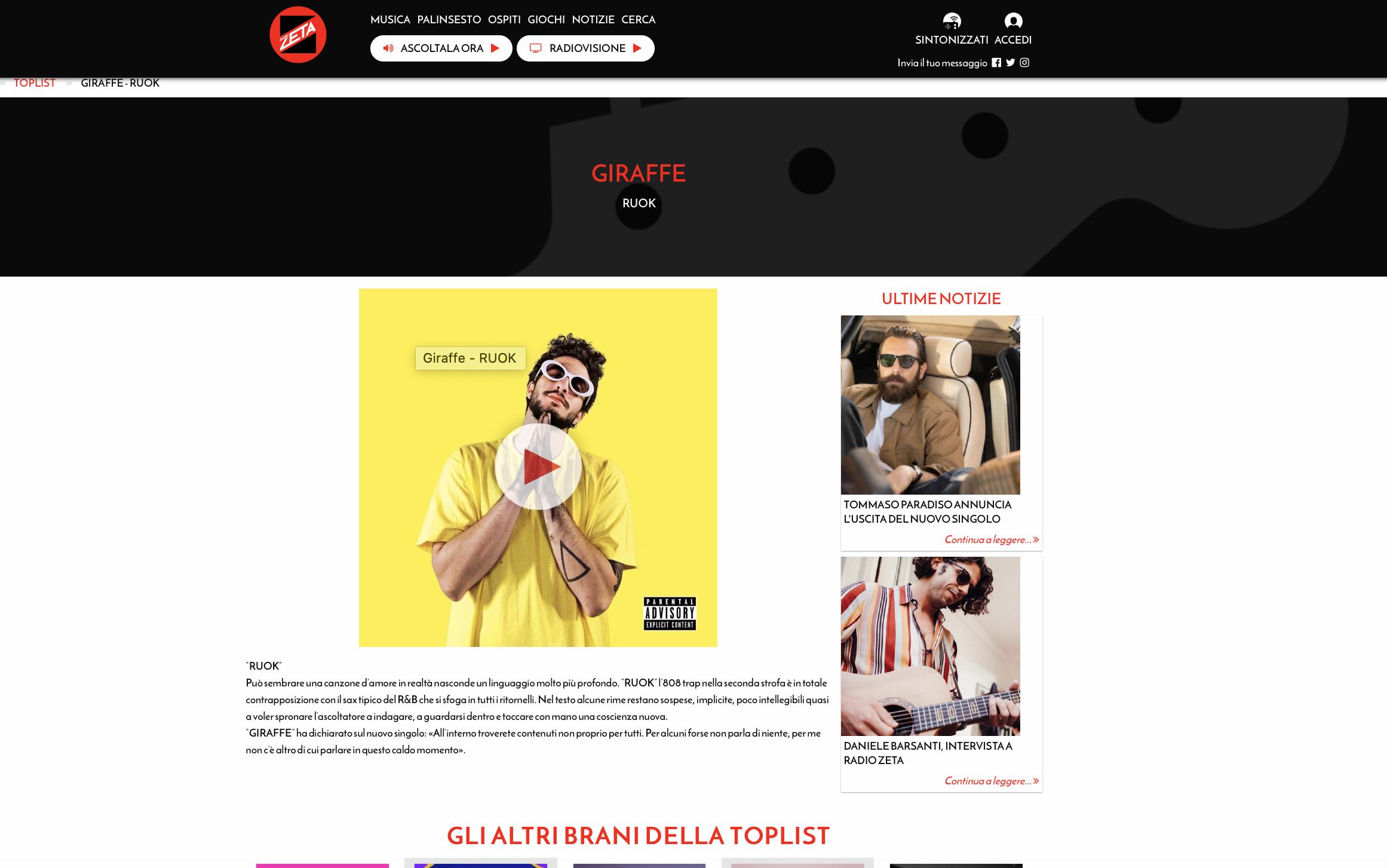 GIRAFFE Radio Zeta
