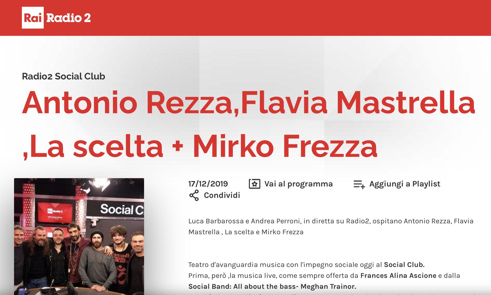 La Scelta Radio 2