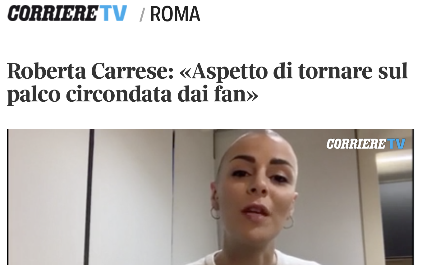 CARRESE Corriere.it