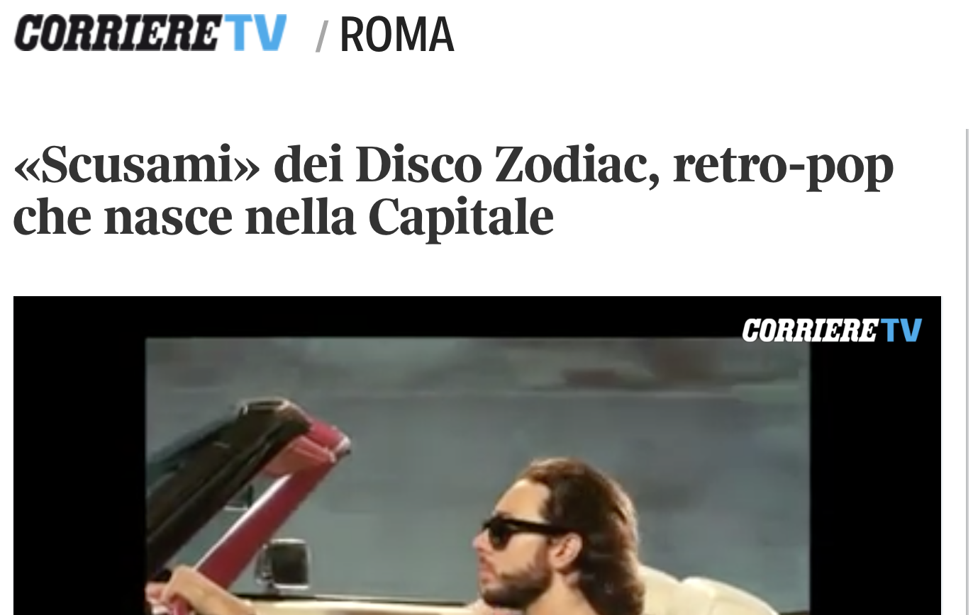 Disco Zodiac Corriere.it