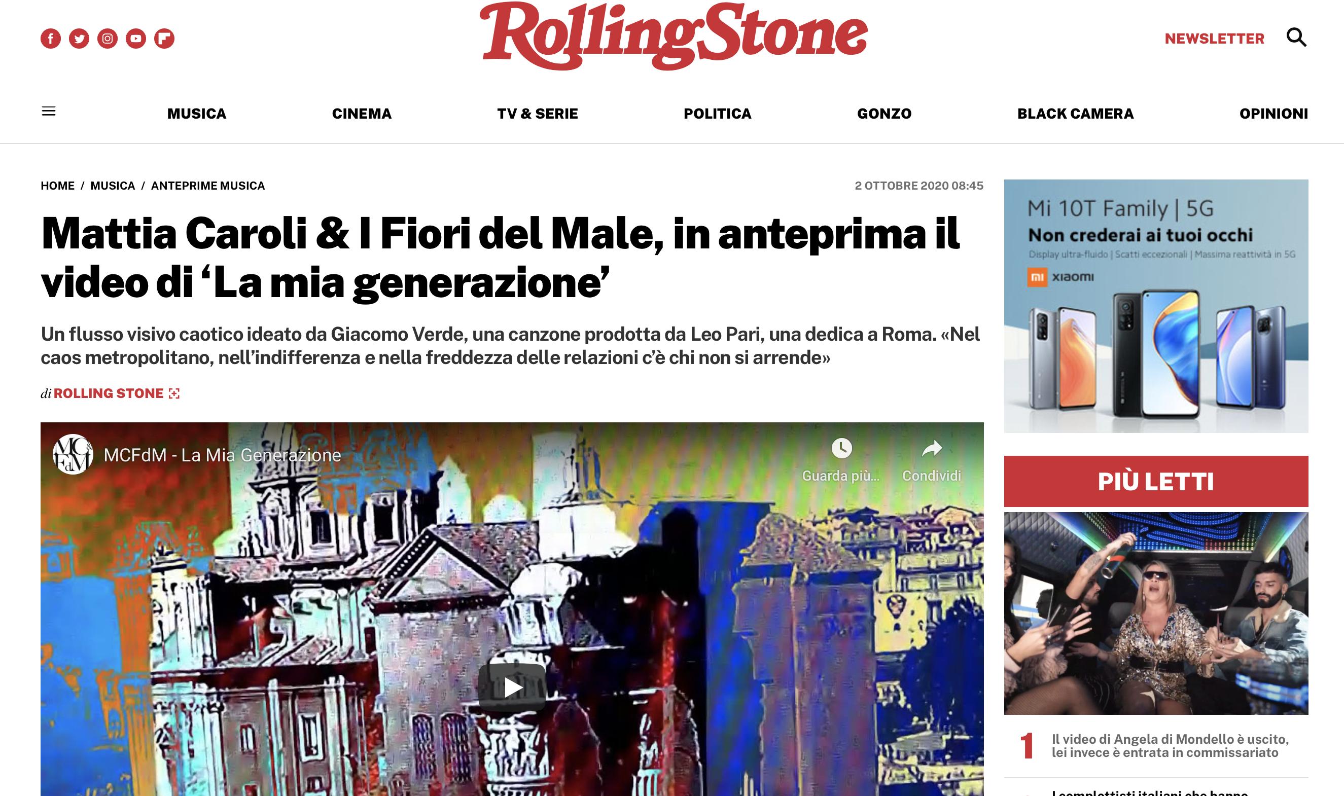 Mattia Caroli & I Fiori del Male